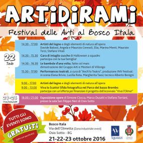Artidirami – Festival delle Arti al Bosco Itala