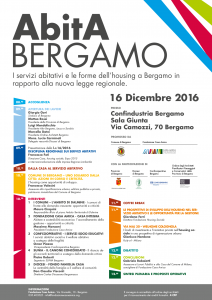 Convegno AbitA Bergamo 16-12-2016